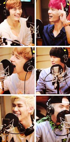 N , Leo ,Ken, Ravi , Hong Bin and Hyuk ♡ #VIXX // Radio