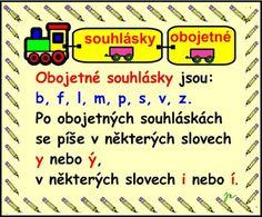 SOUHLÁSKY OBOJETNÉ :: Béčko-Tc Štístkové Learning, School, Children, Young Children, Boys, Studying, Kids, Teaching, Child