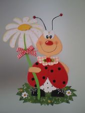 Window picture Little Beetle – Summer Decoration – Tonkarton! FOR SALE Cute Crafts, Diy And Crafts, Crafts For Kids, Wood Crafts, Paper Crafts, How To Make Toys, School Decorations, Spring Crafts, Ladybug