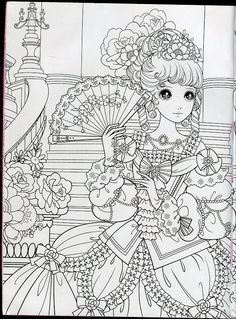 anime princess coloring pages 446 Best Princess Coloring images in 2019 | Anime outfits  anime princess coloring pages