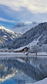 engelberg_switzerland_mountains_winter_lake_landscape_76130_640x1136 | by vadaka1986