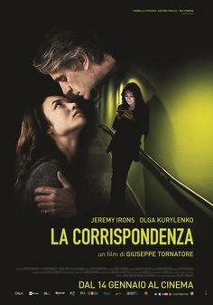 La corrispondenza, il film di Giuseppe Tornatore con Jeremy Irons e Olga Kurylenko, dal 14 gennaio al cinema.