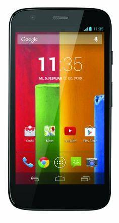Motorola Moto G Smartphone (11,4 cm (4,5 Zoll) HD Display, Qualcomm MSM8x26 Quad-Core A7, 1,2GHz, 16GB Speicher, Android 4.3) schwarz von Motorola, http://www.amazon.de/dp/B00GUJRQAC/ref=cm_sw_r_pi_dp_Xrk4sb11X9Q9P