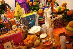 Creating a Loving Dia De Los Muertes Altar