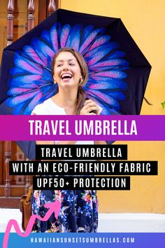 Beautiful compact umbrella for women and perfect for travel and rain and sun protection! Uv Umbrella, Small Umbrella, Best Umbrella, Ladies Umbrella, Compact Umbrella, Black Umbrella, Travel Umbrella, Wind Resistant Umbrella, Rain