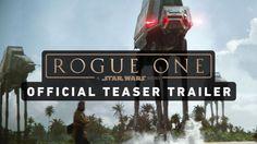 New Star Wars Trailer Features Felicity Jones As a Rebel Badass...: New Star Wars Trailer Features Felicity Jones As a Rebel… #RogueOne