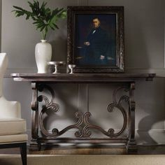 Hooker Furniture DaValle Scroll Console Table - 5165-85001