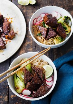 Seitan Recipes, Veggie Recipes, Vegetarian Recipes, Healthy Recipes, Clean Recipes, Cooking Recipes, Tofu, Confort Food, Gourmet