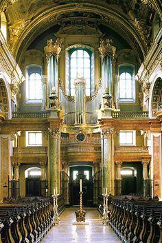 Wien, Jesuitenkirche - Orgel