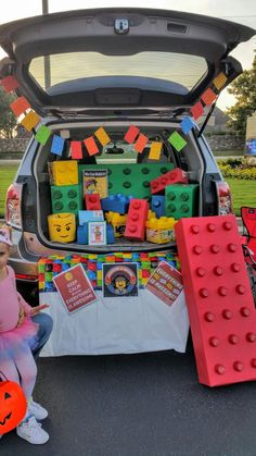 Trunk-or-Treat LEGO Movie for Halloween! I made this trunk! It was so much fun!