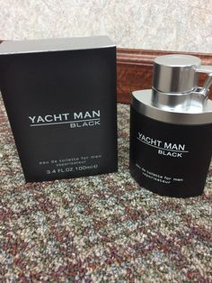Myrurgia Yacht Man Black for Men -3.4 oz EDT Spray BRAND NEW BEST DEAL
