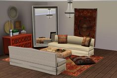 ExoticElements3: Traditional Living Set