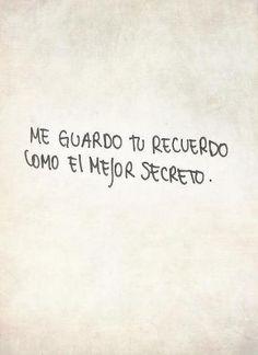 Me guardo tu recuerdo... ;)