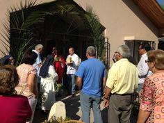 Domingo de Ramos en la Comunidad de Hnas. del Buen Pastor contemplativas en Puente Alto.
