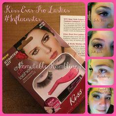 Influenster's Beauty Blogger VoxBox: Kiss Ever Pro Lashes Starter Kit Review @Immutable Ramblings #Influenster #Kiss Nails: http://rapowell.blogspot.com/2012/11/kiss-ever-pro-lashes-starter-kit.html