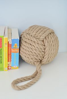 Nautical Rope Bookends