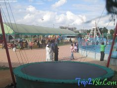 Trampoline at Lumbini Gardens, Bangalore