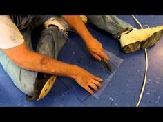 How To Install Vinyl Tile (VCT) Start To Finish Complete Job