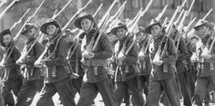 Australian and New Zealand soldiers fought bravely for Queen and Country.