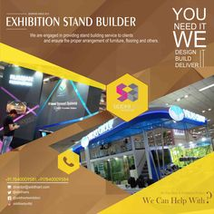 Exhibition Stall Fabricators In Lucknow : Best exhibition stall fabrication services in delhi ncr india