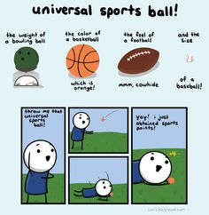 Universal Sports Ball!! sportsing