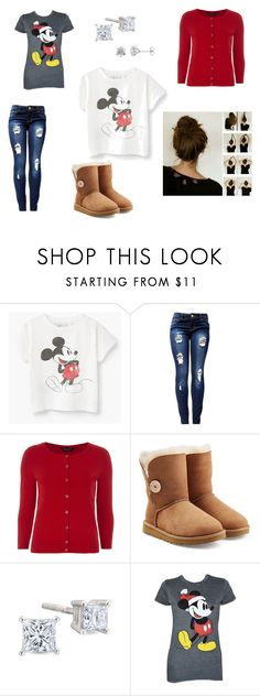 """""""Mickey Mouse Casual"""" by penguins-rcool on Polyvore featuring Dorothy Perkins, UGG and Disney"""