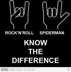 Rock'n'roll and Spiderman