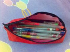 How to Make a PENCIL CASE in just 10 mins. (PICS FIXED) - PURSES, BAGS, WALLETS