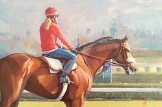 "Bright Morning by Carol Brightman Johnson Oil ~ 12"" x 18"""