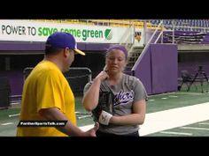▶ Kate Kinnetz - UNI Softball, freshman battles cancer - YouTube