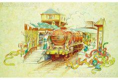 Mango Salute greeting card art: Merry Christmas by Feifei Ruan