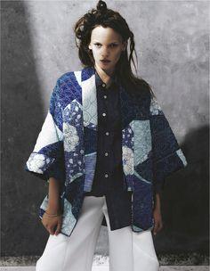 visual optimism; fashion editorials, shows, campaigns & more!: l'arte in fusione: jola by nicola de rosa for io donna 15th june 2013