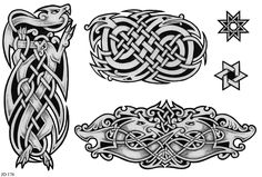 gaelic designs | Celtic Tattoo Designs Sheet 176 | Celtic Tattoo Designs | Home ...