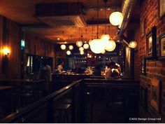 What We've Just Seen:  Bubbledogs, Charlotte Street http://www.bubbledogs.co.uk/home  #bubbledogs #B3Designers