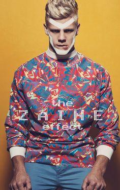 The Zaine Effect. Zaine Pringle. Stylist: Rebecca Williams. Pics: Ian Chang. Male Model Scene July 2013. #men #editorials #fashion