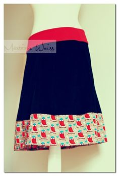 my first skirt ... handmade ♥