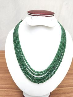 Emerald Necklace, Green Necklace, Turquoise Necklace, Beaded Necklace, Jewelry Shop, Jewelry Making, Natural Ruby, Indian Jewelry, Necklace Lengths