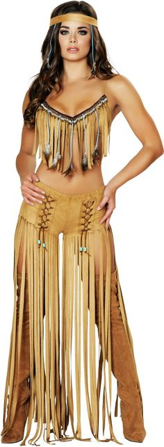 Sexy Cherokee Hottie Native American Indian Babe Halloween Costume Adult Women More