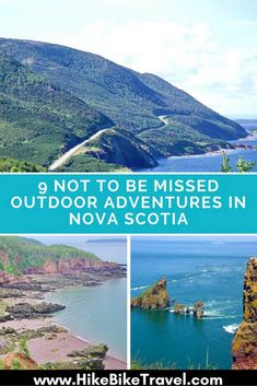 9 not to be missed outdoor adventures in Nova Scotia including plenty of hikes and backpacking trips Pvt Canada, Visit Canada, Canada Trip, Canada Cruise, East Coast Travel, East Coast Road Trip, Places To Travel, Places To Visit, Rv Travel