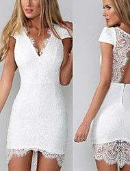 Women's Sexy Bodycon Lace Cute Party Plus Sizes I... – USD $ 17.99