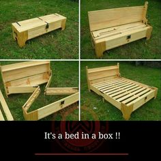 Bed in a box (no tutorial)