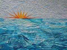Sampaguita Quilts: Blogger's Quilt Festival - Morning Swim