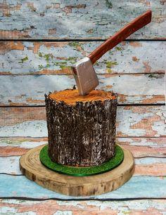 A Lumberjack Cake for Bobby...
