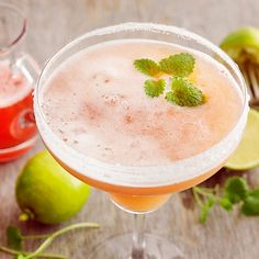 Rhubarb Margarita - For One