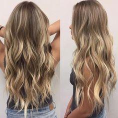 hair beauty - Ideas Hair Goals Ombre Highlights For 2019 Cabelo Ombre Hair, Balayage Hair, Love Hair, Gorgeous Hair, Ombre Highlights, Partial Highlights, Hair Day, Hair Looks, Pretty Hairstyles