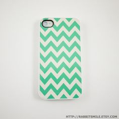 Chevron+mint+I phone 4