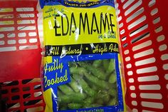 Edamame: Veggies, fresh or frozen, are always good to have handy. Half a cup has 10 grams of protein and 5 grams of dietary fiber. It will also satisfy 15 percent of your daily iron need.  Calories: 120  Saturated fat: 0 grams  Cholesterol: 0 milligrams  Sodium: 250 milligrams  Sugar: 1 gram (Photo: Kristina Bravo)