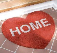 The Heart of the Matter: Creating a Feng Shui Core Feng Shui, Contemporary Door Mats, Modern Doormats, Front Door Mats, Front Porch, House Front, Red Cottage, Lounge, Welcome Mats
