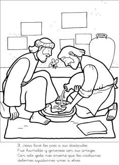 21 Best Jesus - Washes Disciples Feet images | Sunday school, Sunday ...