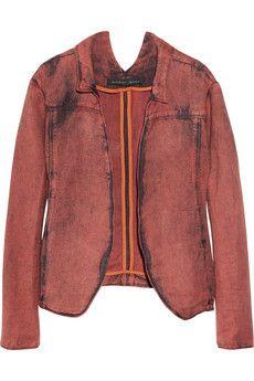 a c i d - w a s h e d.    denim jacket--- theysken's theory